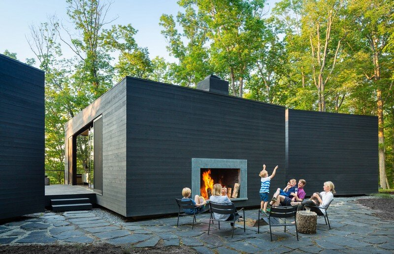 James River House – a Modern Family Weekend Retreat