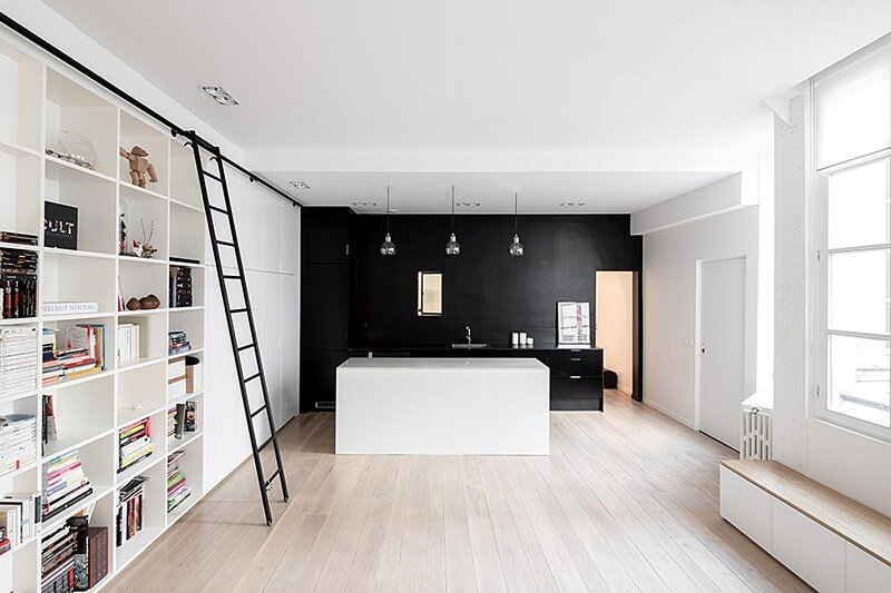 Kabinett Apartment: Conversion of a Former Manufacturing Workshop in Paris