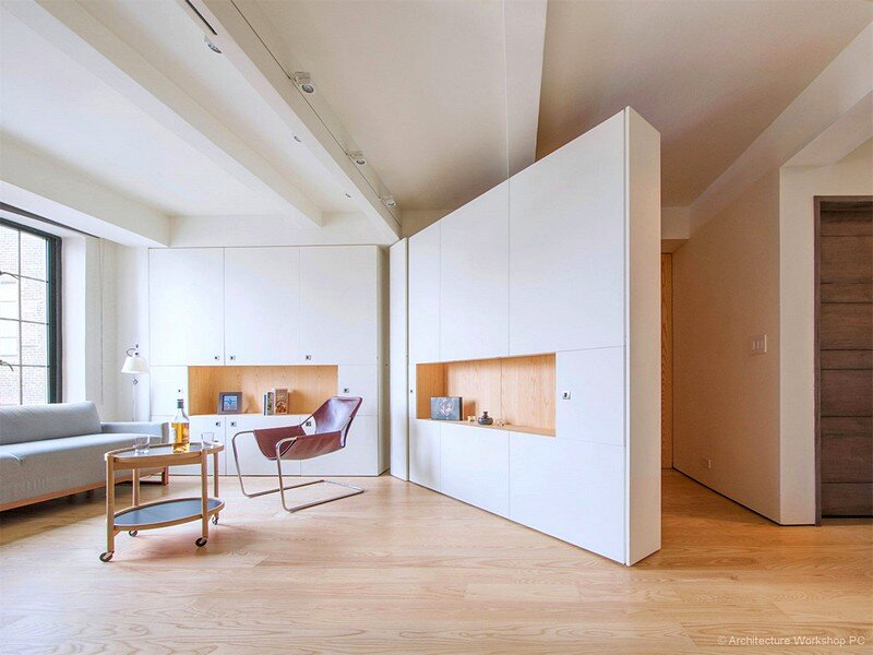 Pivot Apartment – a Responsive Interior Space for Urban Living