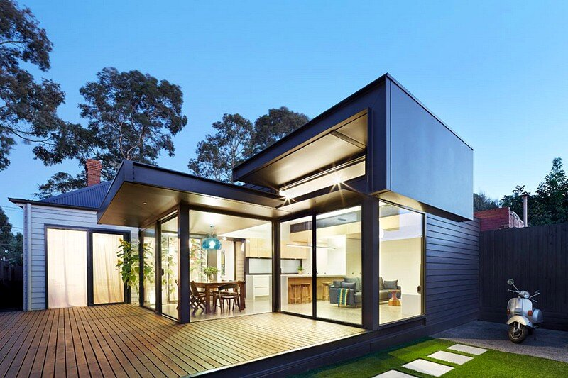 Pod House – Extension and Renovation by Nic Owen Architects