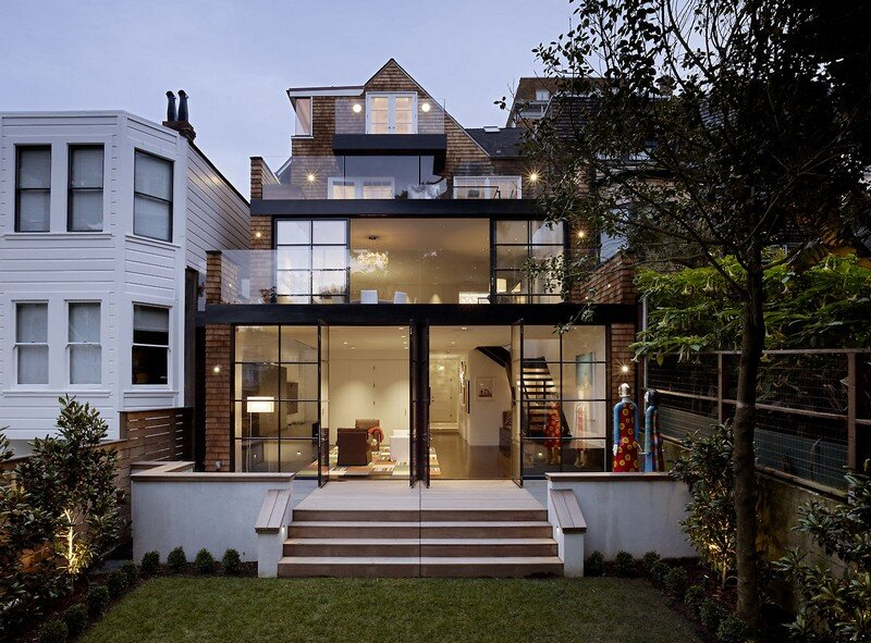 Two Faced House by Butler Armsden Architects