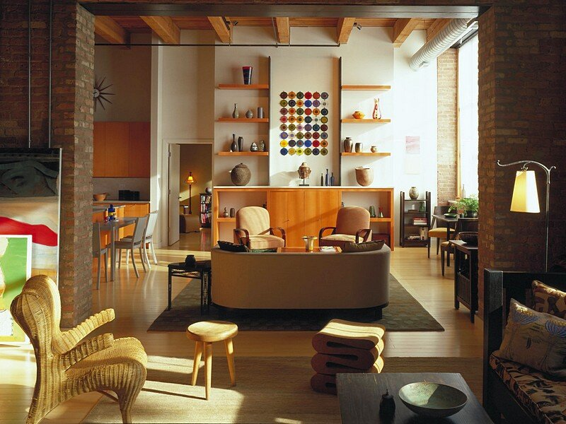 Bucktown loft in chicago jordan mozer - 2 bedroom apartments in bucktown ...