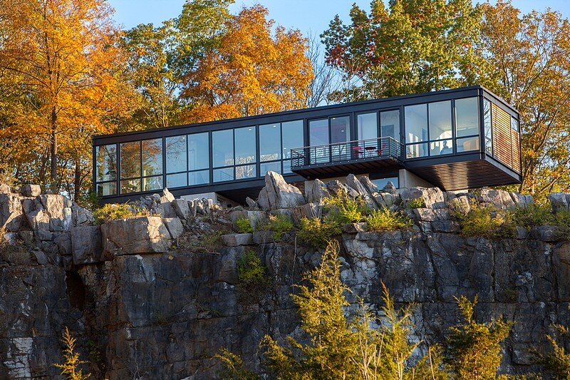 Hawks Nest is Perched on a Cliff That Overlooks the Potomac River