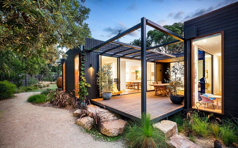 Tiny Home Designs: Merricks Beach House: A Contemporary Take On The Great