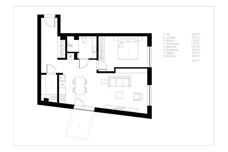 Modern Apartment in Vilnius 12