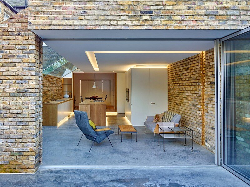 Modern Side Extension / Coffey Architects