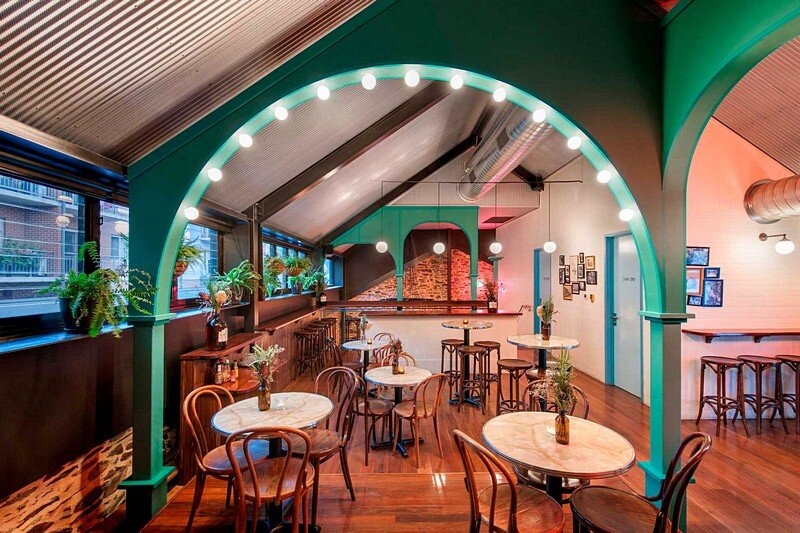 Small House Interior Design >> Nola Bar is Inspired by the Underground Jazz Bars of New Orleans