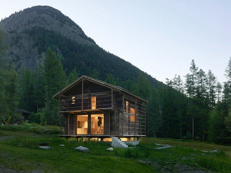 Old Barn Conversion / Praz-de-Fort by Savioz Fabrizzi Architectes