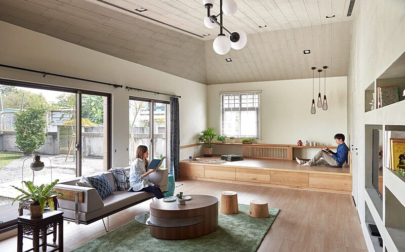 Southern Sunshine Home: Good Traffic Flow Creates a Comfortable Space