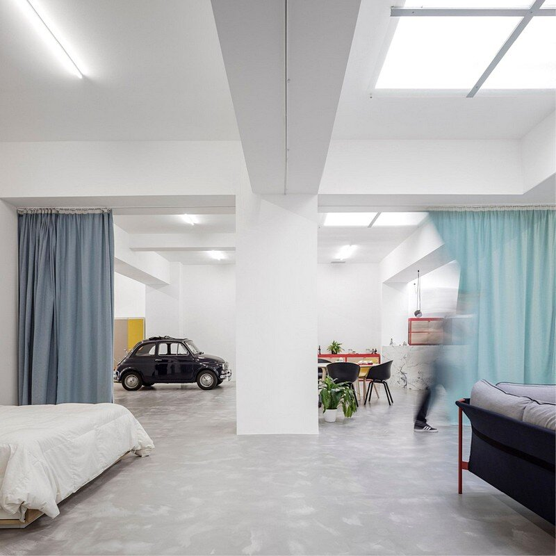 Garage House in Lisbon / Fala Atelier