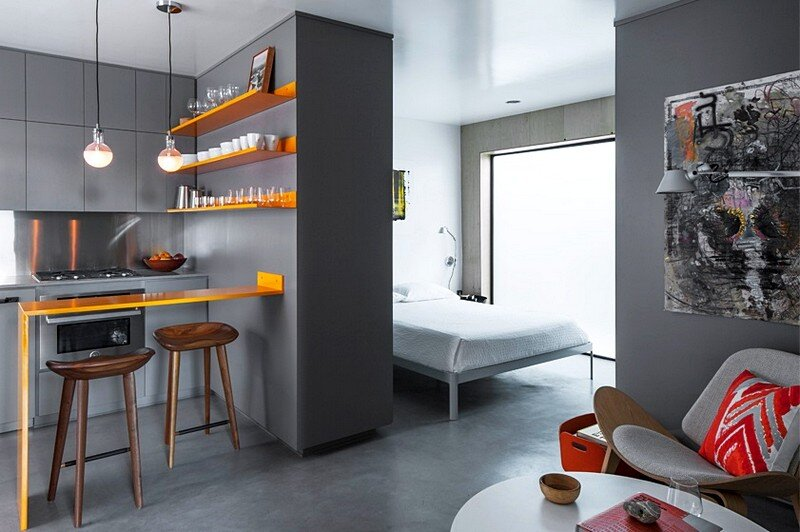 Venice micro apartment by vertebrae architecture for Design apartment venice
