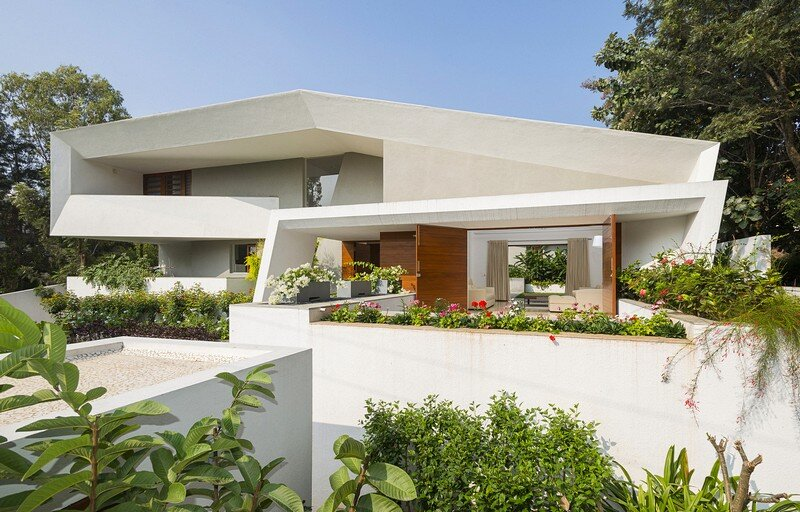 Bangalore Courtyard House / Architecture Paradigm