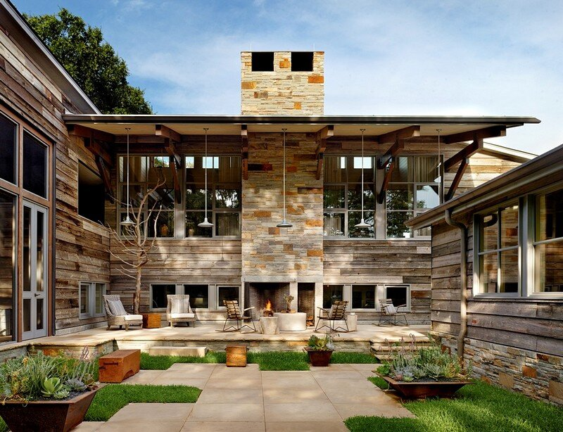 Buckeye House / Paul Lamb Architects