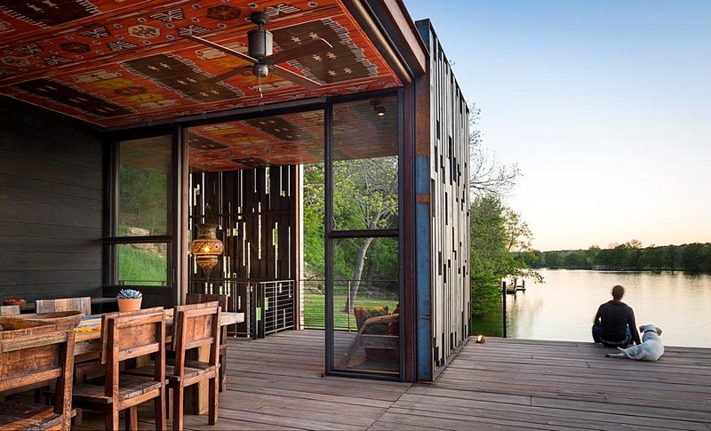 Bunny Run Boat Dock – Summer Retreat by Andersson-Wise Architects