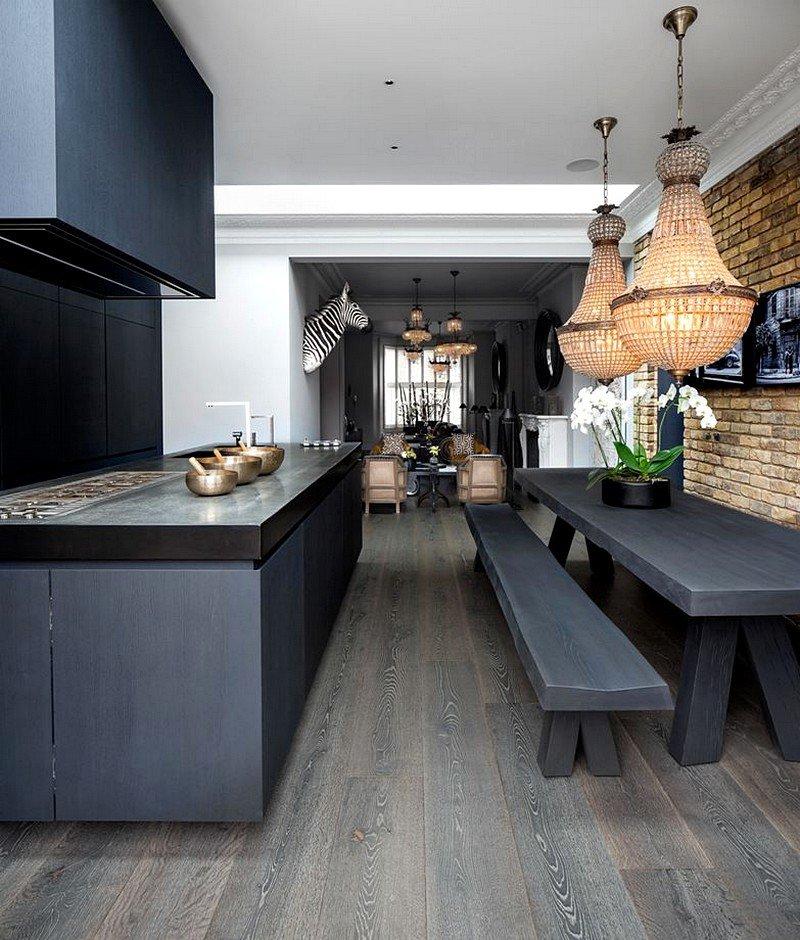 dining room, interior design, London
