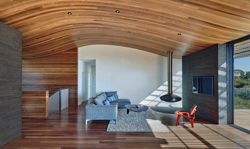 living room, Terry & Terry Architecture