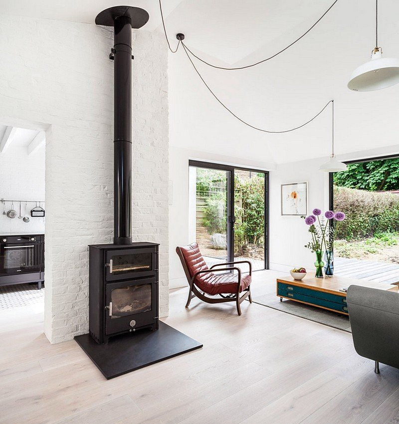 Transformation of a Victorian Semi-Detached Property into a Couryard Family House