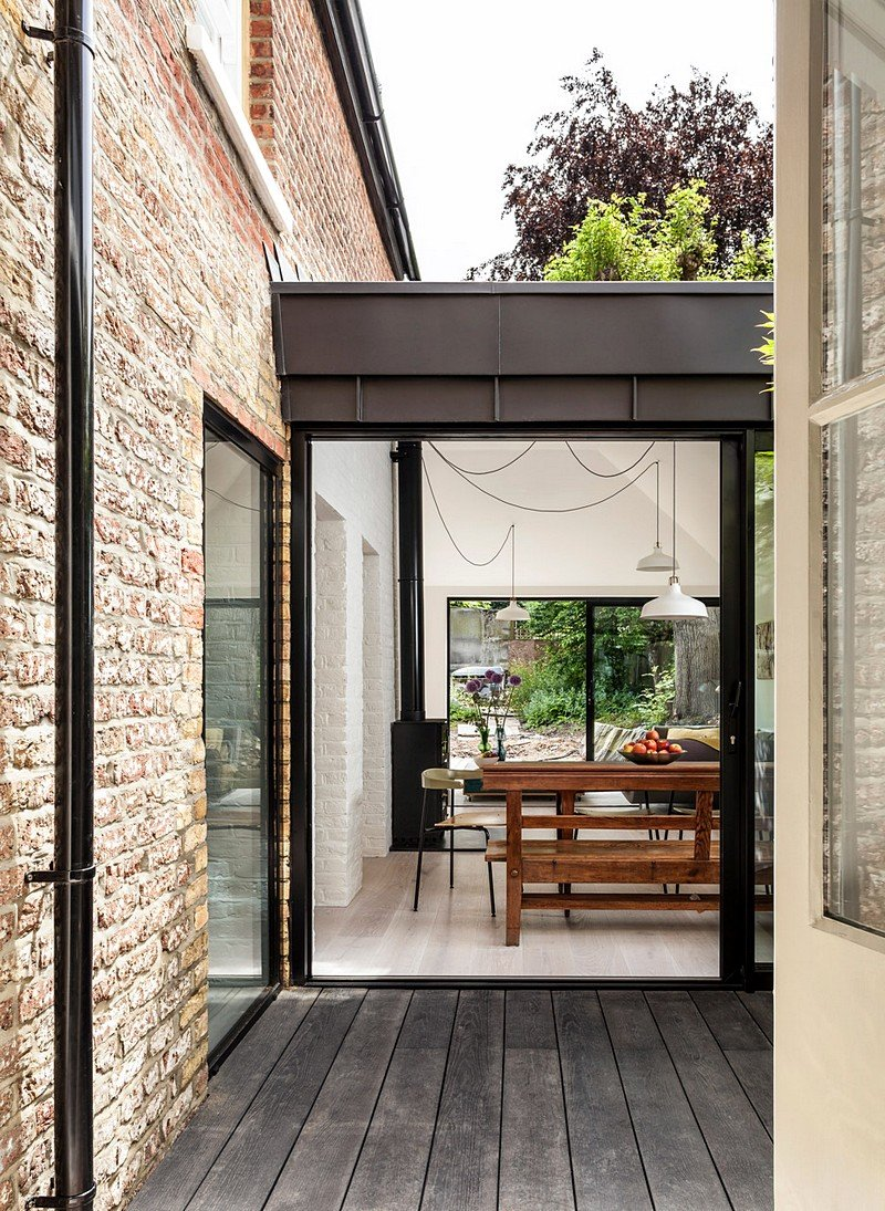 Transformation Of A Victorian Semi Detached Property Into