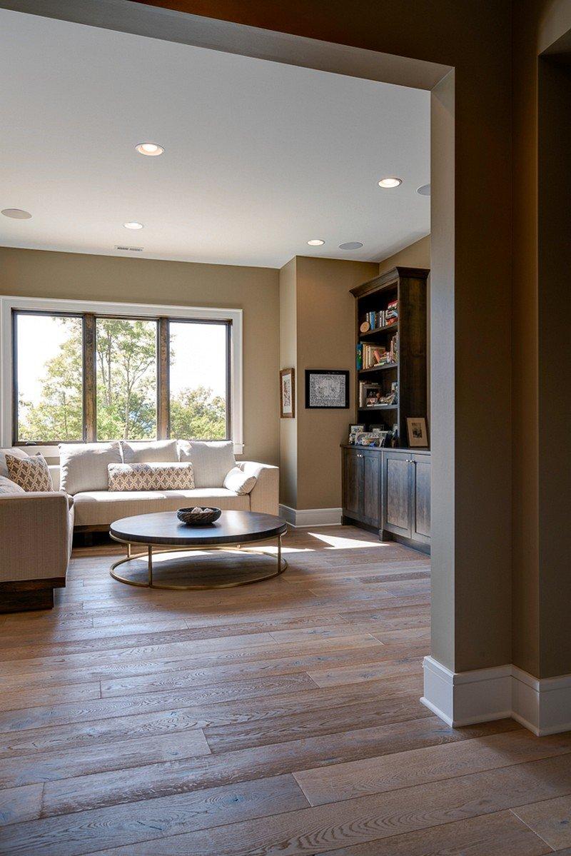 Modern craftsman style interior design for Craftsman interior design elements