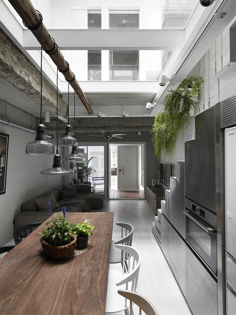 Renovated old town-house