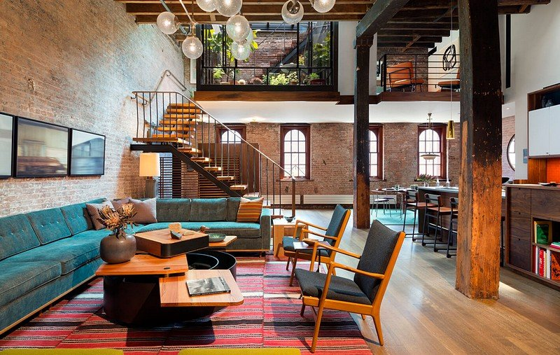 Tribeca North Loft Andrew Franz Architect
