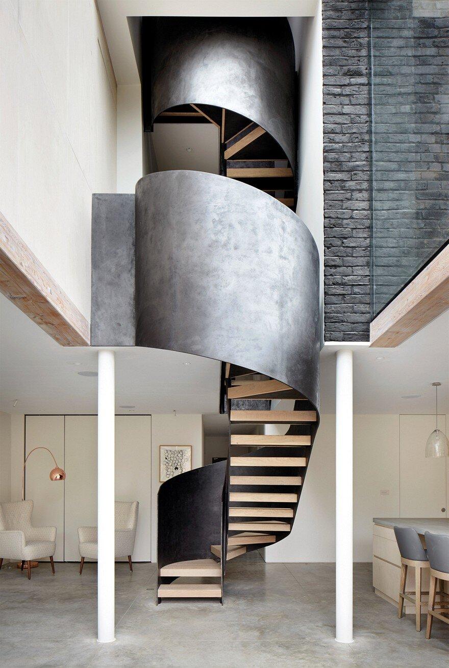 staircase, Cousins & Cousins Architects 3