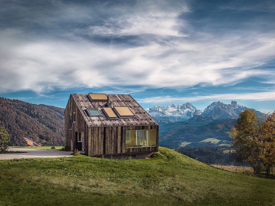 Private Holiday House in Austrian Alps / Maximilian Eisenköck Architecture