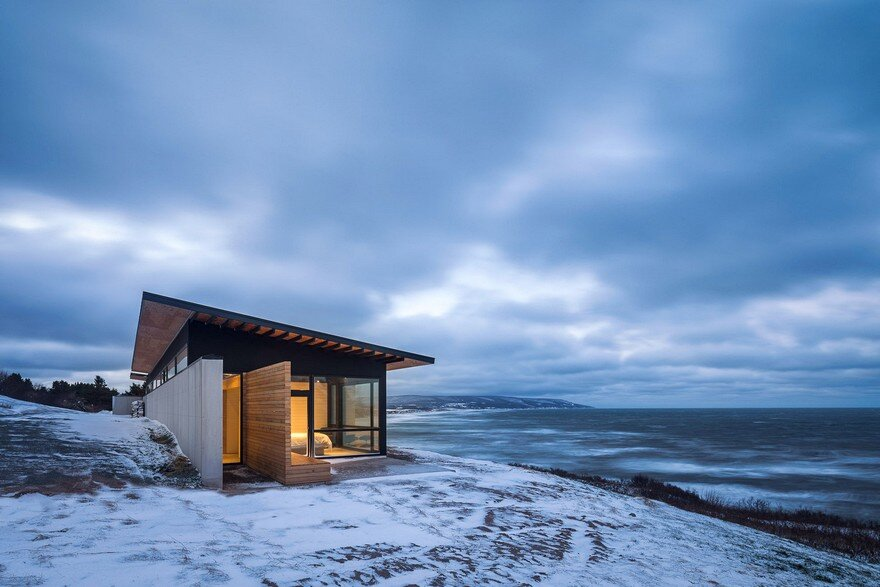 The Lookout at Broad Cove Marsh / Omar Gandhi Architect