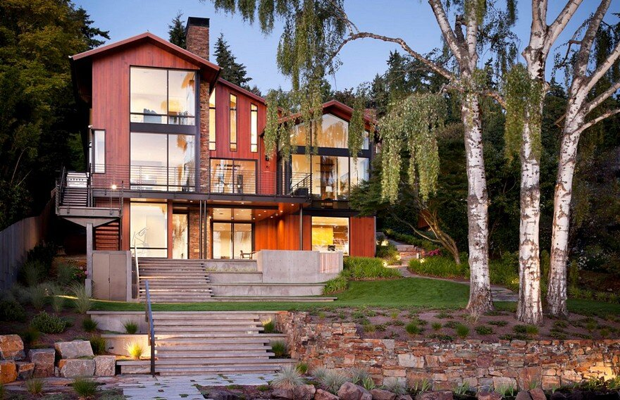 West Mercer Residence Sundberg Kennedy Ly-Au Young Architects