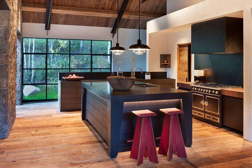 kitchen, Miller Roodell Architects