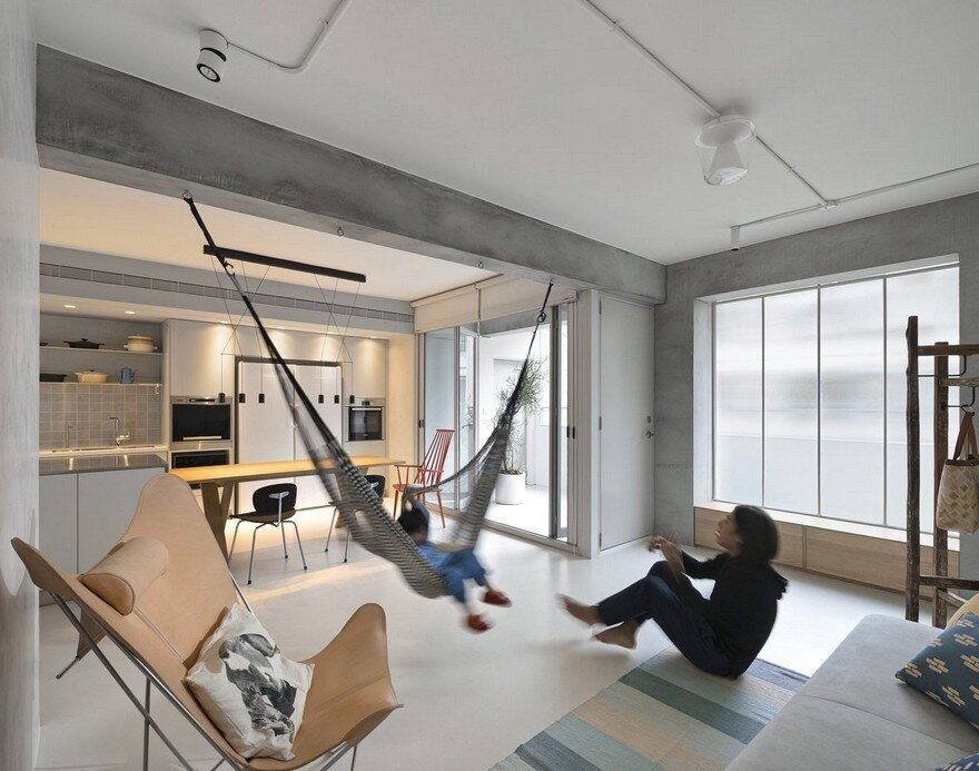 Backlight Apartment in Taipei