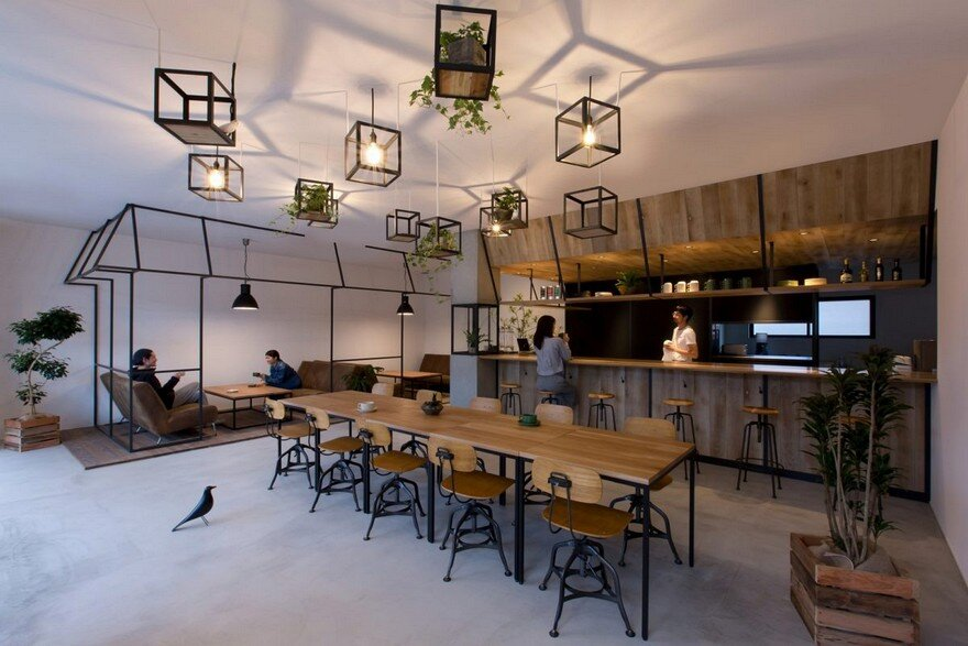 Cafe cicero alts design office for Japanese office interior design