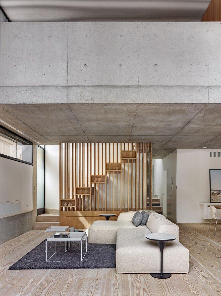 living room, Nobbs Radford Architects