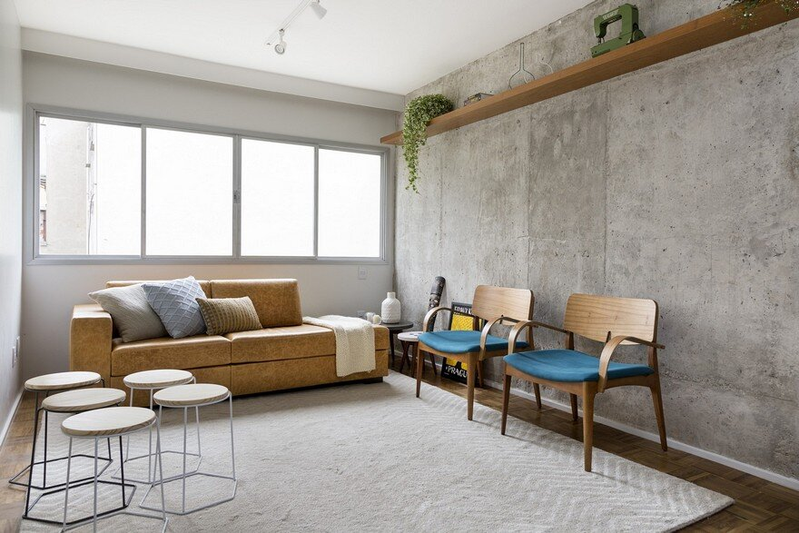Joaquim Antunes Apartment by Tria Arquitetura