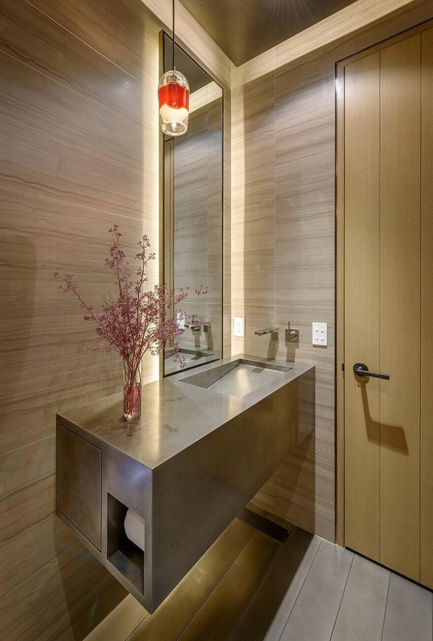 bathroom, Stuart Silk Architects