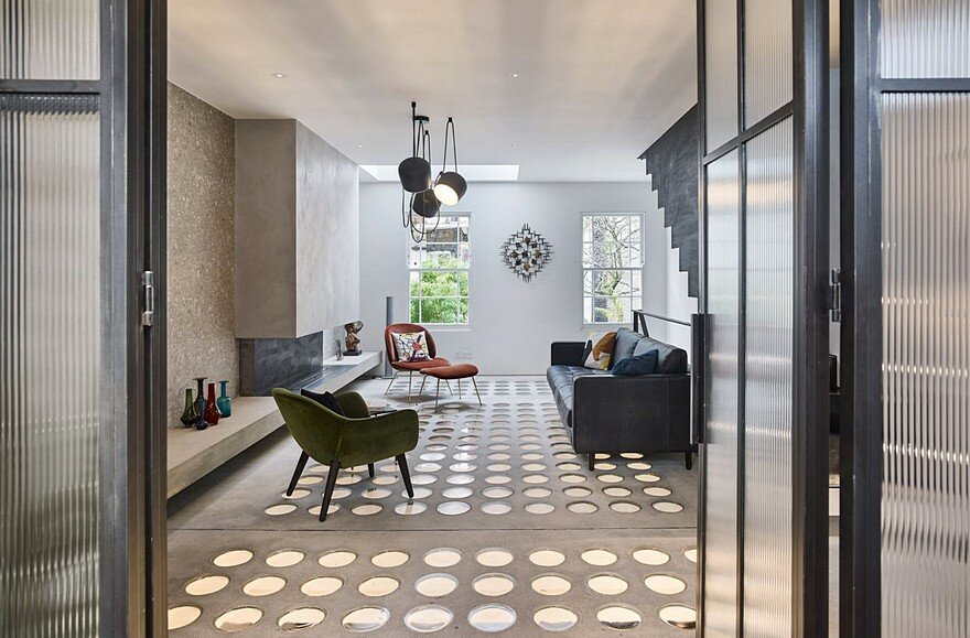living room, Andy Martin Architecture 8