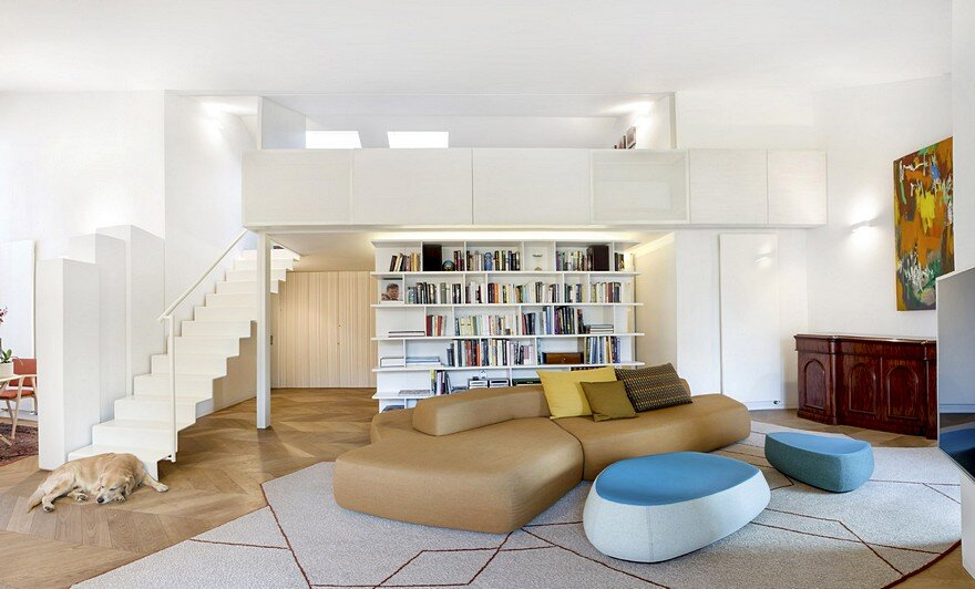210 sqm Apartment Renewal by Bartoli Design