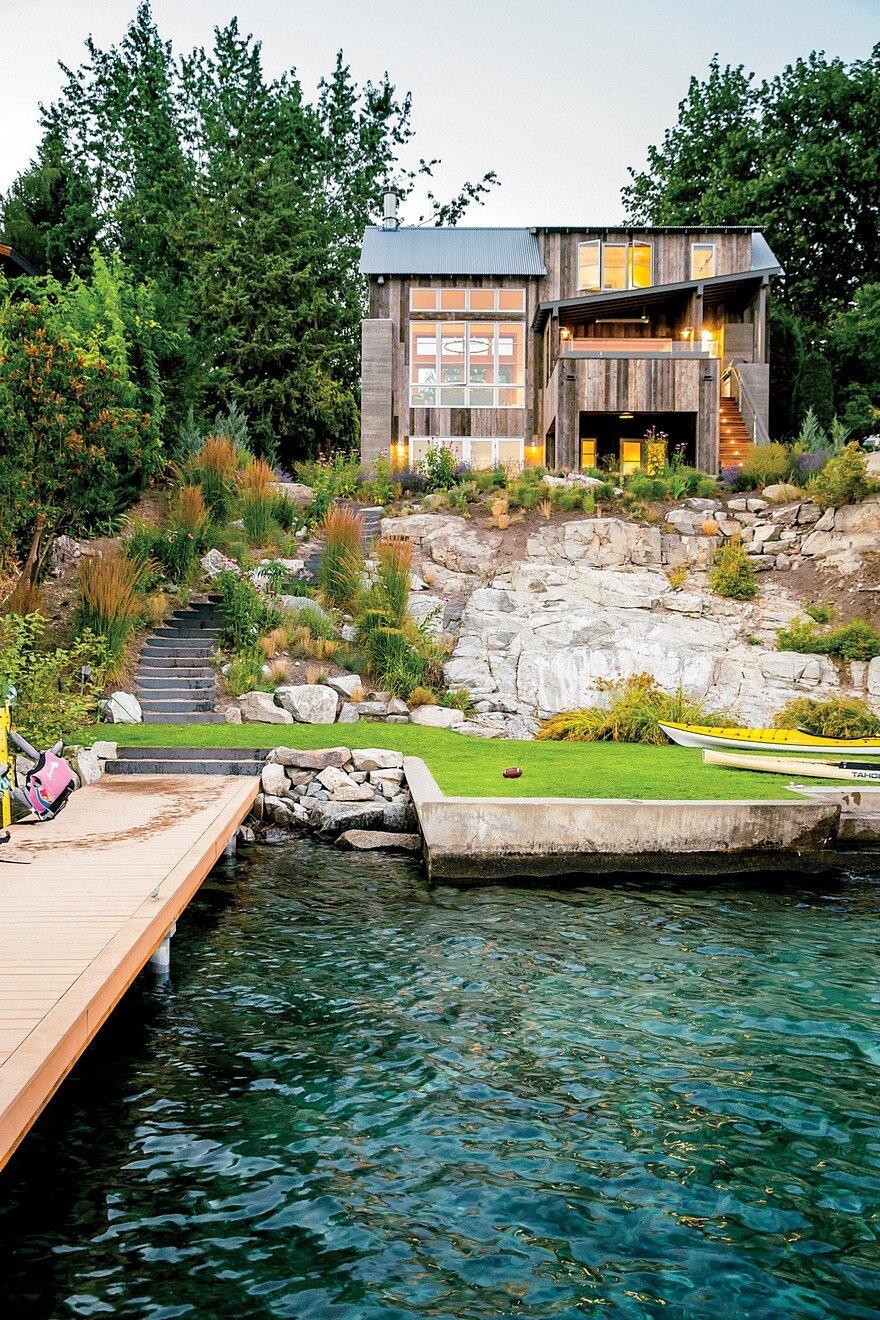 Chelan Lake House by Hoedemaker Pfeiffer