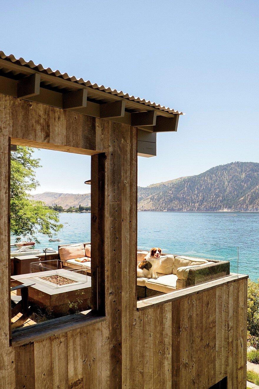 Chelan Lake House by Hoedemaker Pfeiffer 7