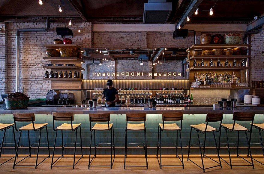 Contemporary Malaysian Style Restaurant Hawker Hall by Craig Tan Architects 2