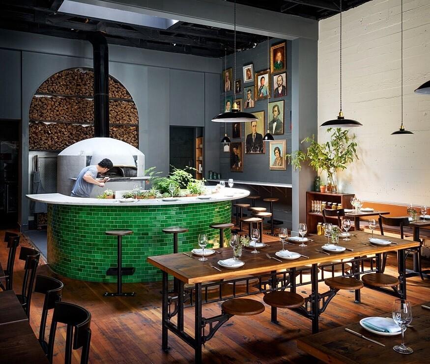 Del Popolo Restaurant / Jessica Helgerson Interior Design