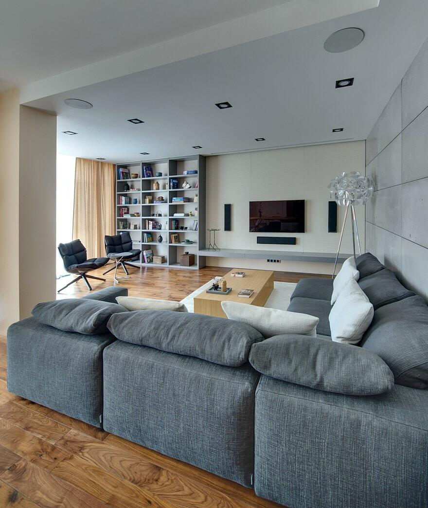 Equilibrium Apartment by Sergey Makhno Architect 2