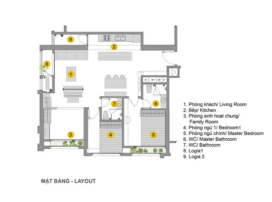 Home Stage in Hanoi by Landmak Architecture 18