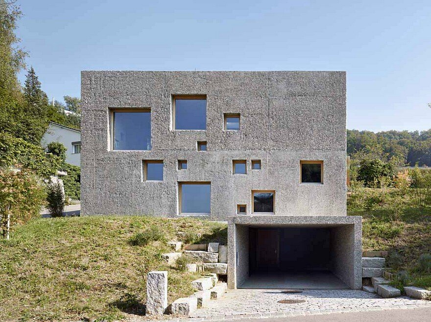New Concrete House by Wespi de Meuron Romeo Architects