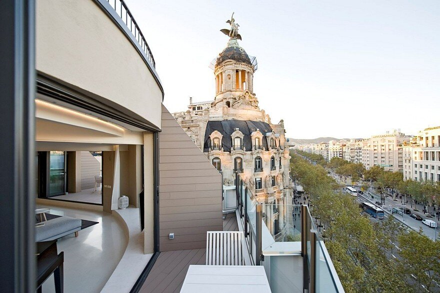 Paseo de Gracia Penthouse, Barcelona / CaSA – Colombo and Serboli Architecture