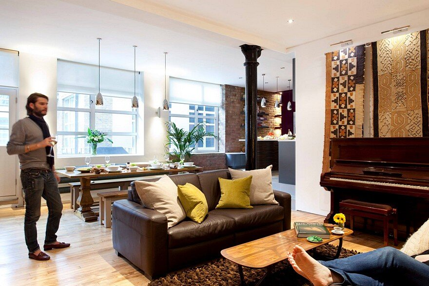 Shoreditch London Loft by Phillips Design Studio 2