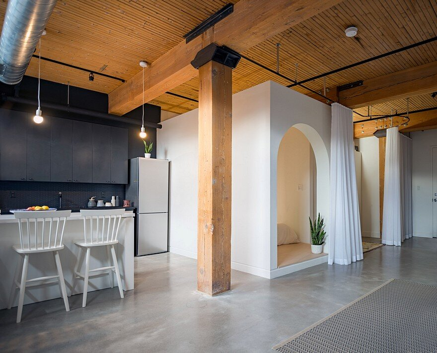 Studio Loft Broadview in Toronto, Canada