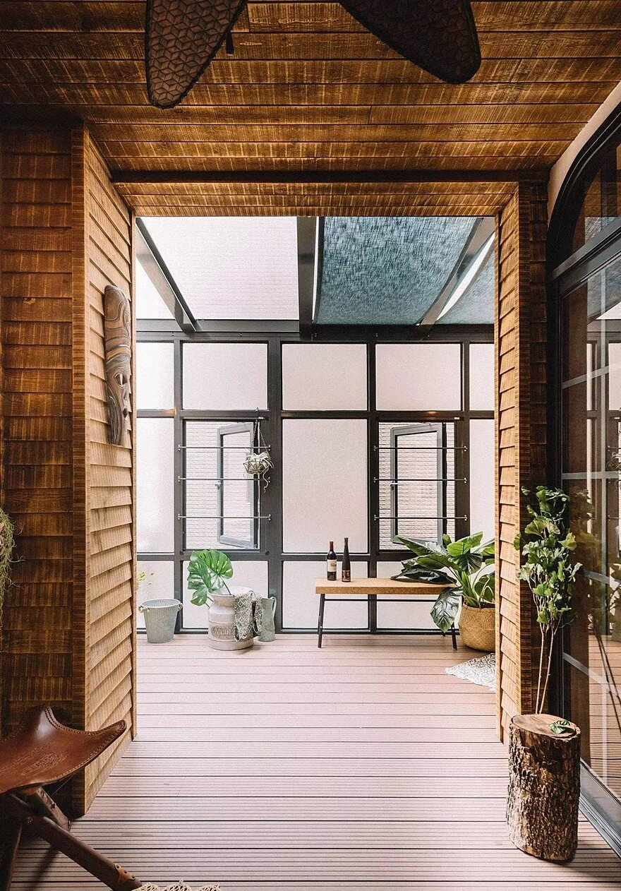 The Bridge House in Tainan City, Taiwan by HAO Design 21