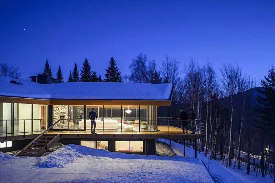 Trefoil House, Vermont by J.Roc Design