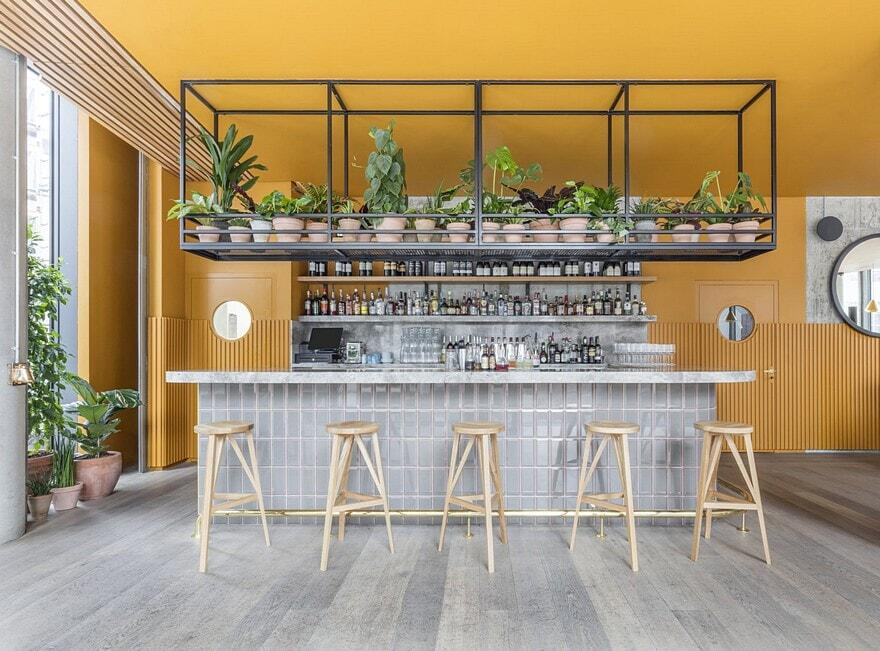 Treves & Hyde Restaurant by Grzywinski+Pons